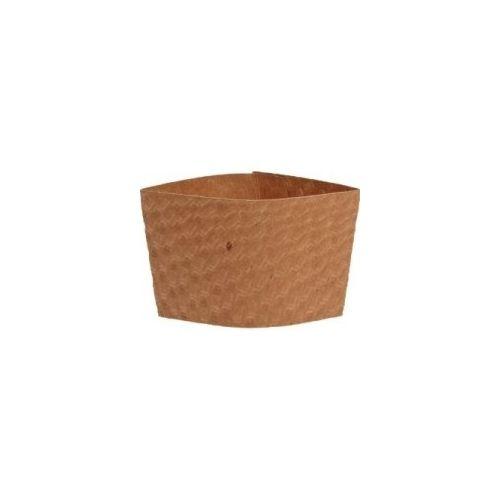Dopaco DSLVBRN, Kraft Hot Cup Sleeves, 1000/CS