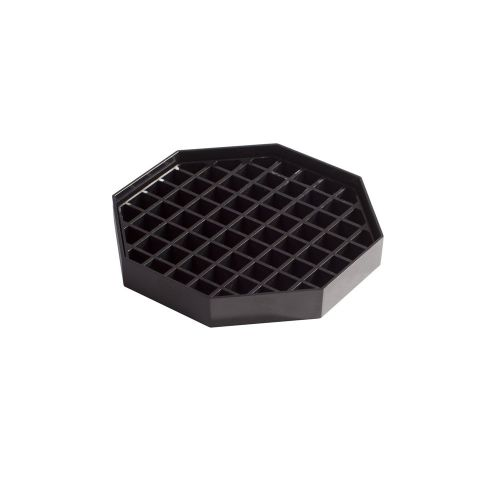 Winco DT-60, 6x6-Inch Drip Trays, 4-Piece Pack