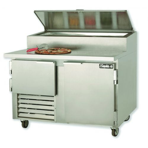 Leader ESPT60-M, 60x36x43-Inch Refrigerated Pizza Preparation Table, Marble Top, EA