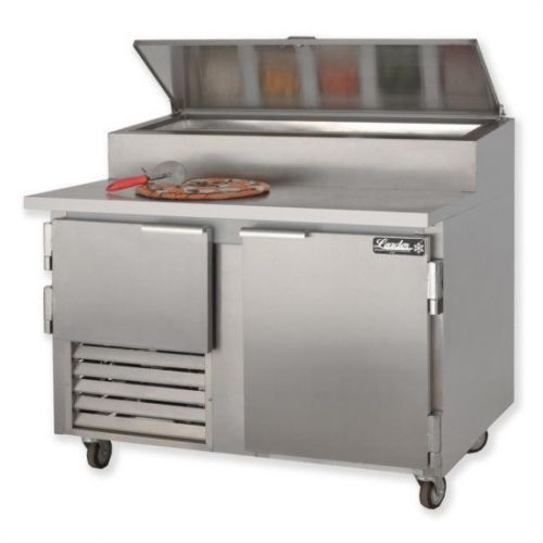 Leader ESPT60, 60x36x43-Inch Refrigerated Pizza Preparation Table, Stainless Steel Top, EA