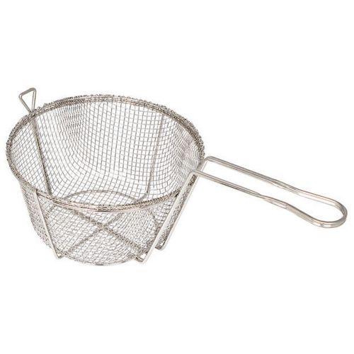 Winco FBR-11, 11.25x6-Inch 4-Mesh Round Wire Fry Basket