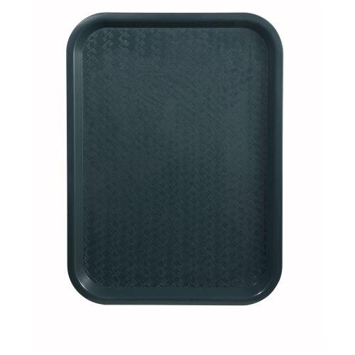 Winco FFT-1418G, 14x18-Inch Green Plastic Fast Food Tray