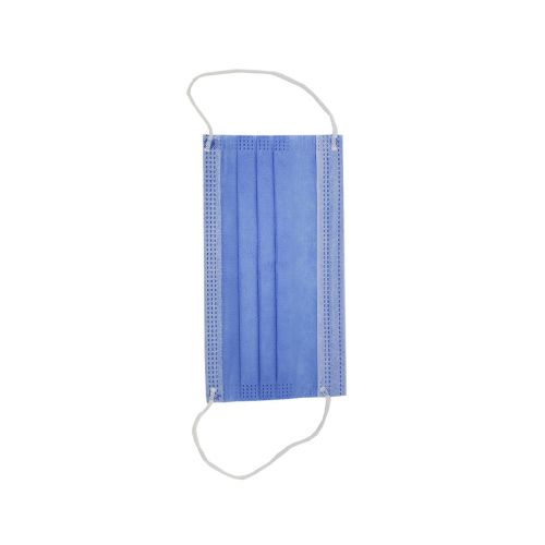 FMASK10-X, Made in USA Blue Earloop Face Masks, 10/PK