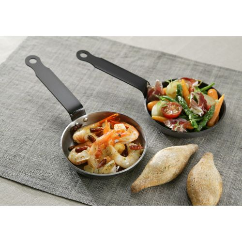 Garcima G10214 5.5 inches/14 cm BLINIS Polished Pan