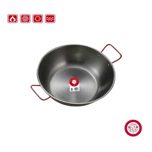 Garcima G10316 6 inches/16 cm HONDA PULIDA Deep Polished Pan Two Handles