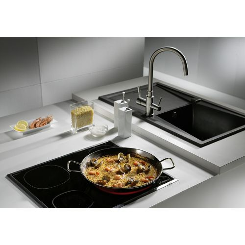 Garcima G74040 16 inches/40 cm PAELLA VALENCIANA Stainless Steel Pan
