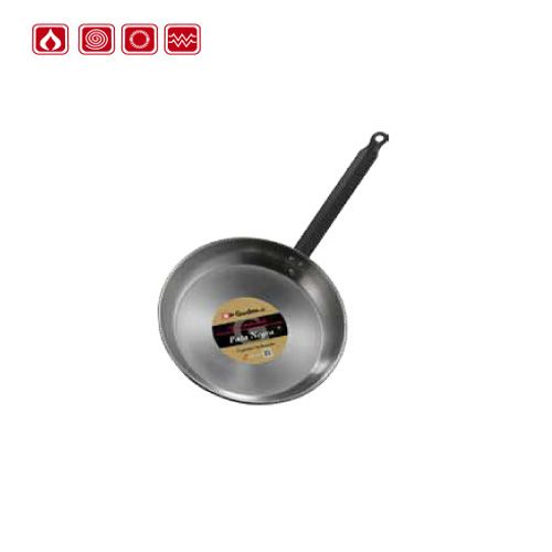 Garcima G88124 9 inches/24 cm PATA NEGRA Polished Shallow Pan One Handle