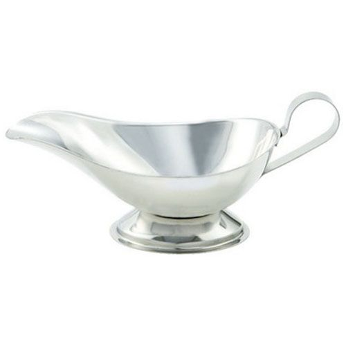 Winco GBS-10, 10-Ounce Stainless Steel Gravy Boat