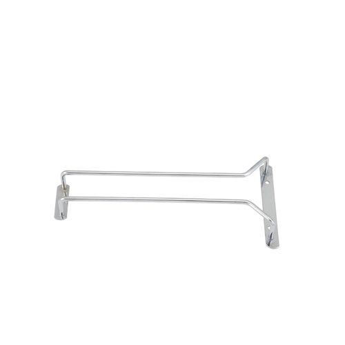 Winco GHC-10, 10-Inch Glass Hanger Rack, Chrome Plated
