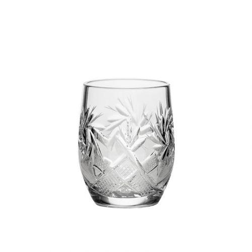 Neman Crystal GL5108-50-X, 1.5-Ounce Crystal Shot Glasses, 6-Piece Set