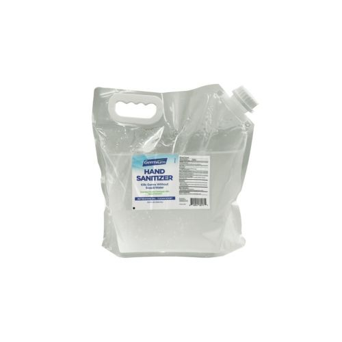 SET: SafePro Wallmount Automatic 40.5 Oz Dispenser and 128 Oz Hand Sanitizer