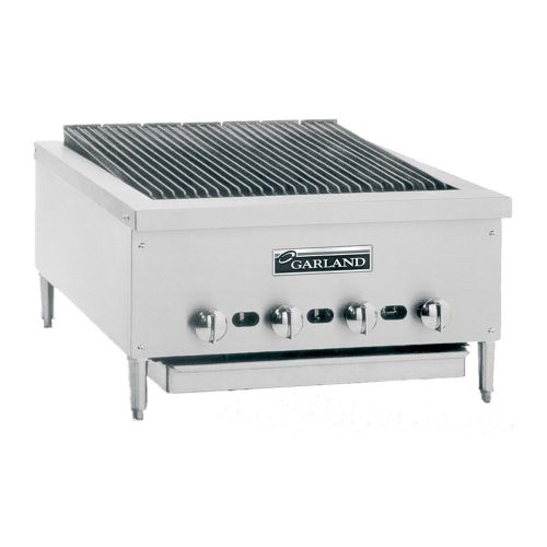 Garland GTBG36-NR36, 36-Inch Wide Heavy-Duty Gas Counter Charbroiler with Non-Adjustable Grates, NSF, AGA, CGA