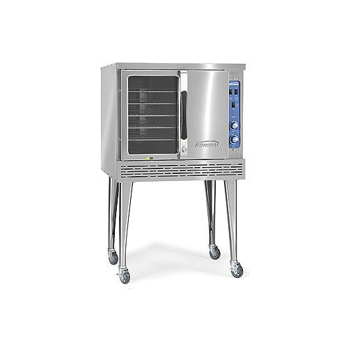 Imperial ICVG-1, Single Deck Standard Depth Gas Convection Oven, NSF, CETLus, CE (Casters are not included)
