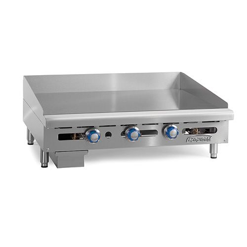 Imperial ITG-36, 36 inch Thermostatically Controlled Gas Griddle, CETLus, NSF, CE