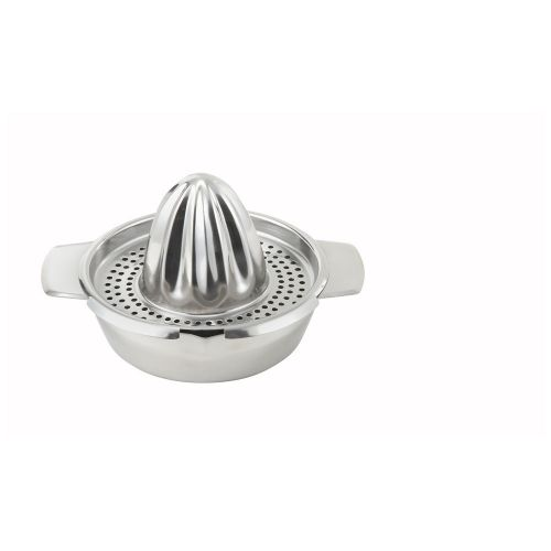 Winco JC-4, 5-Inch Stainless Steel Citrus Juicer