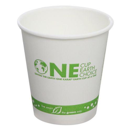 Karat KEK510, 10-Ounce White Hot Cup, 1000/CS, Cedar Grove
