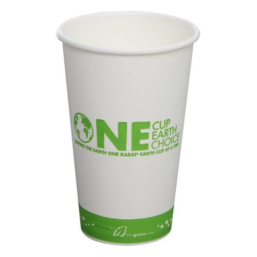 Karat KEK516, 16-Ounce White Hot Cup, 1000/CS, Cedar Grove