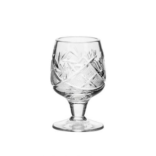 Neman Crystal LG5290 1.2 Oz Crystal Shot Glasses, 6/ST