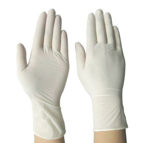 SafeGuard LGMC-X, Powdered Latex Gloves, Medium, 100/CS