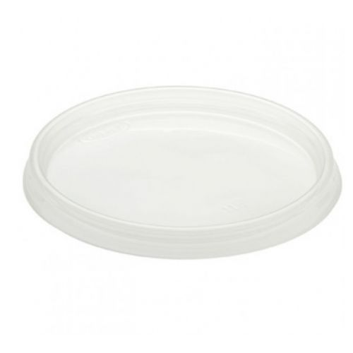 SafePro L128, Lids for White Plastic Containers, 100/CS
