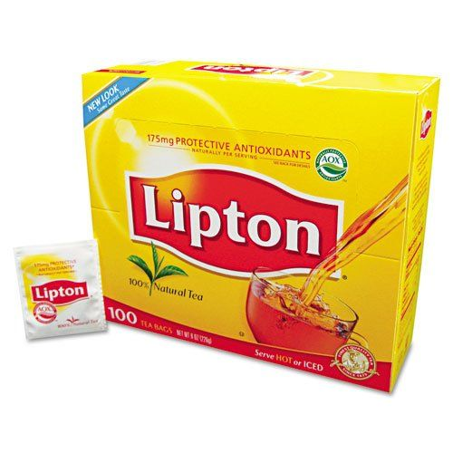 Lipton LIPTON, Regular Tea Box, 100/Box