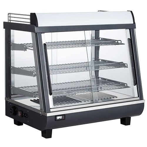 Marchia MHCC96 27-inch Heated Countertop Display, Front & Rear Access
