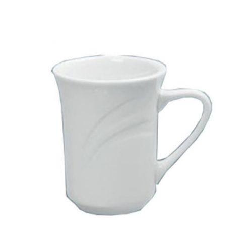 Yanco MM-17 8 Oz 3-Inch Miami Porcelain Round White Mug, 36/CS