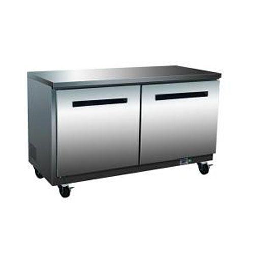 Maxx Cold MXCF-48U, X-series 48x30x32.5-Inch Undercounter Freezer, 12 Cu. Ft, 1035 Watt, Self-Contained, UL Listed, UL EPH Classified