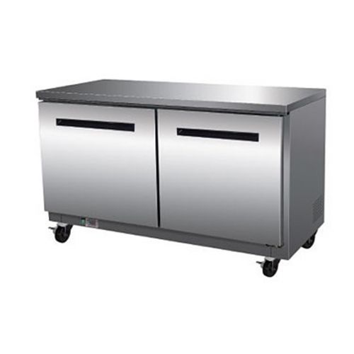 Maxx Cold MXCF-60U, X-series 61x30x32.5-Inch Undercounter Freezer, 15.5 Cu. Ft, 1150 Watt, Self-Contained, UL Listed, UL EPH Classified