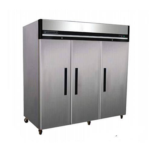 Maxx Cold MXCF-72FD, X-series 81x32.7x82.7-Inch Upright Freezer, 3 Solid Doors, UL Sanitation, UL EPH Classified