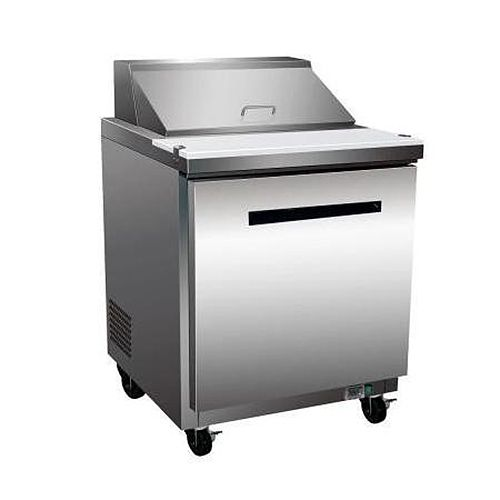 Maxx Cold MXCR-29S, X-series 29x30x43-Inch Refrigerated Sandwich/Salad Unit, 7 Cu. Ft, 575 Watt, Self-Contained, UL Listed, UL EPH Classified