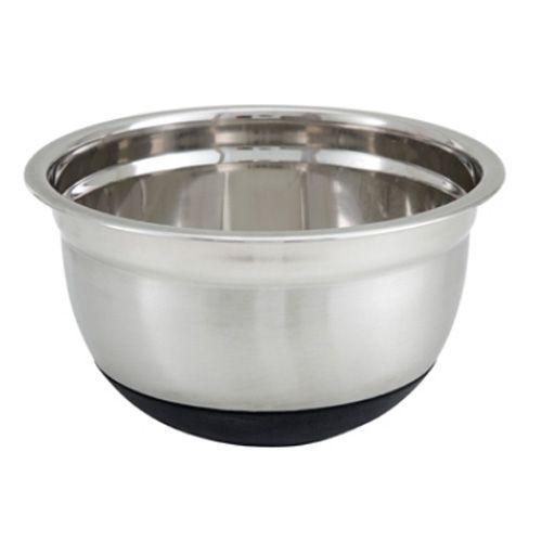 Winco MXRU-150, 1.5-Quart German Mixing Bowl with Synthetic Base