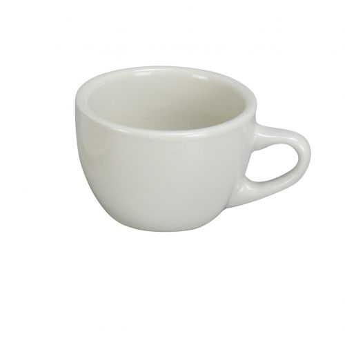 Yanco NR-1 7 Oz 3.75-Inch Normandy Melamine Round American White Short Cup, 36/CS