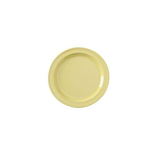 Yanco NS-108Y 8-Inch Nessico Melamine Round Yellow Plate, 48/CS