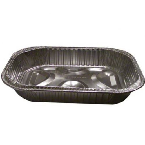 Pactiv OR25 17-1/2 x 13-1/16-Inch Aluminum Oval Roaster, 25/CS