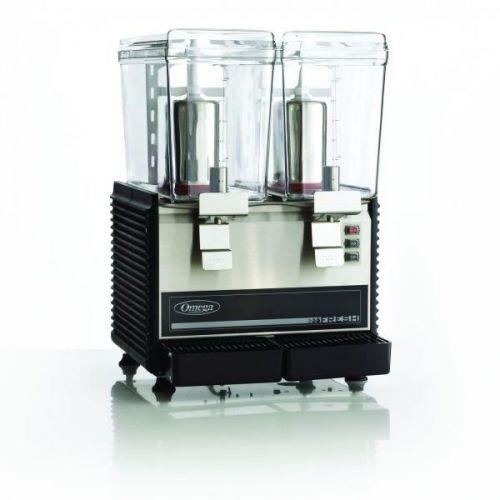 Omega OSD20, Double Bowl Drink Dispenser, ETL