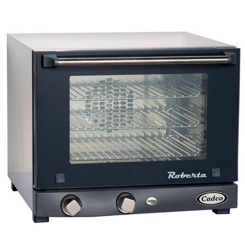 Cadco OV-003 Medium Duty Quarter Size Convection Oven with Manual Controls, 3-shelf, 120V, EA