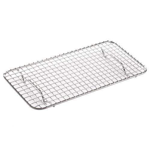 Winco PGWS-510, 10x5-Inch Pan Grate for Third-Size Steam Pan, Stainless Steel