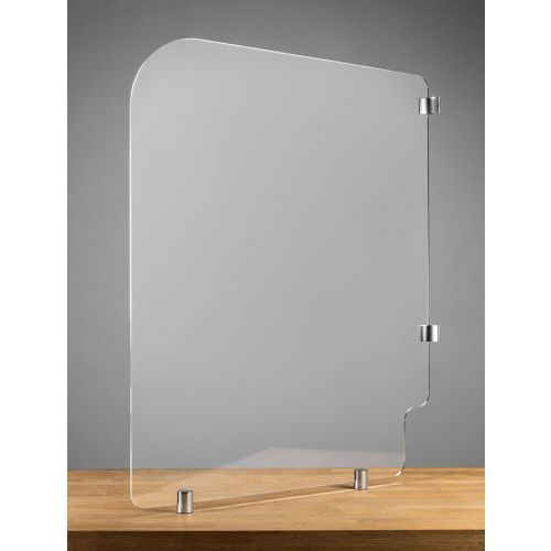 BTHGRD3 36x36-Inch Mounted Acrylic Protective Guard for Restroom, EA