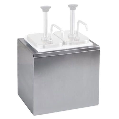 Winco PKTS-PT03, Stainless Steel Outer Container for PKTS-2D