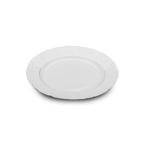Cmielow PL-21, 8-Inch Platinum Band Porcelain Plate