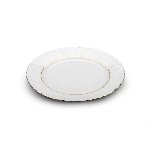 Cmielow PL-21G, 8-Inch Gold Band Porcelain Plate, EA