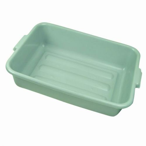 20.25x15x7-Inch Dish Box Black Winco PL-7K