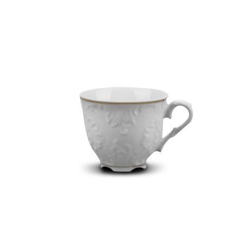 Cmielow PLC3.3-X, 3.3 Oz Platinum Band Porcelain Espresso Cup, EA