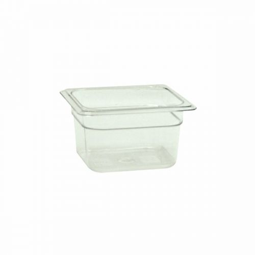 Thunder Group PLPA8164, Sixth Size 4-Inch Deep Polycarbonate Food Pan