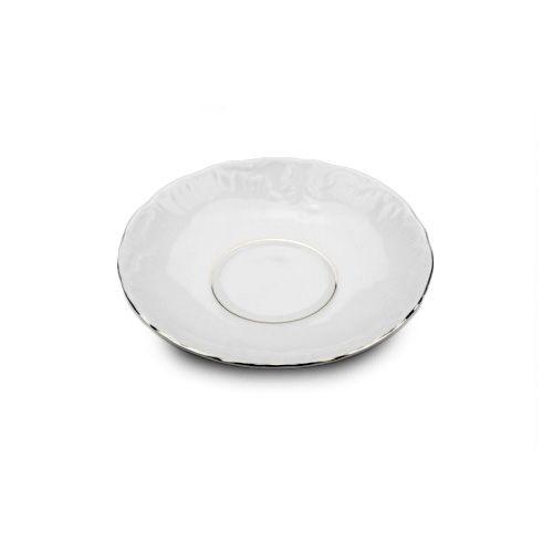 Cmielow PLS5-X, 5-Inch Platinum Band Porcelain Saucer