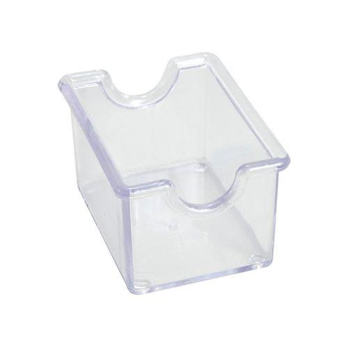 Winco PPH-1C, Clear Plastic Sugar Packet Holder, 1 Dozen