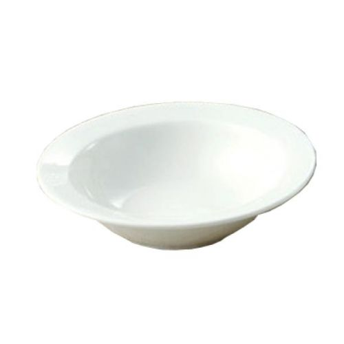"Yanco YN-PS-10, 13 Oz 6-1/2"" White China Round Piscataway Grapefruit Bowl, 36/CS"