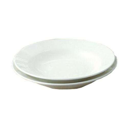 Yanco YN-PS-115 25 Oz 11.5-Inch White China Round Piscataway Pasta Bowl, DZ