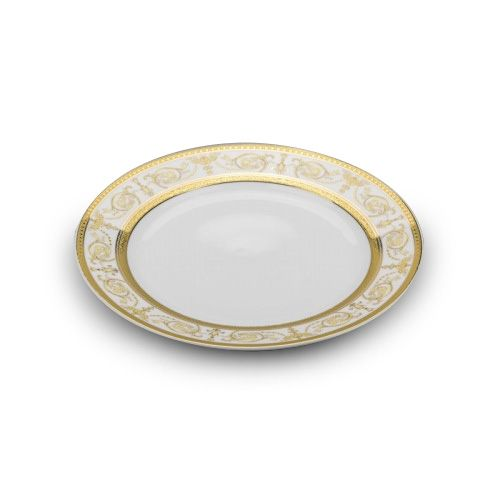 Cmielow PULS8X, 8-Inch Gold Band Pulaski Porcelain Plate, EA